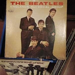 Lot #PM102 - Vintage Album Lot 1950s - 1980s Beatles, Tom Scott, Orchestral, Rock