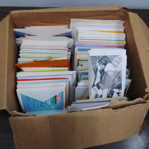 Lot #EL156 - Large Box of Unused Greeting Cards #2