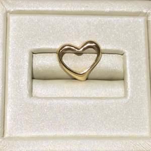 Lot 1- 14K Gold Vintage Floating Heart Slide