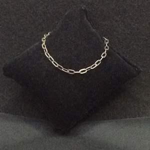 """Lot 14- Vintage Silver Link Bracelet 7"""""""