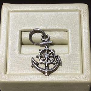 Lot 17- Vintage Silver Anchor 28 x 15mm Charm