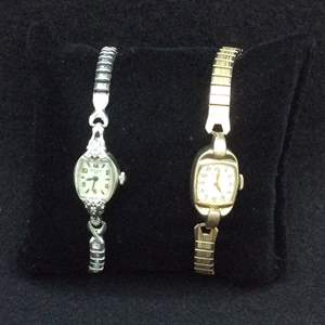 Lot 27- Vintage Elgin and Bulova Mechanical Jeweled Watches 10K Gold Filled and 10K Rolled Gold Plate