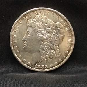 Lot 47 - 1883O AU Morgan SILVER Dollar