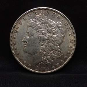 Lot 48- 1885 Morgan SILVER Dollar