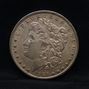 Lot 49 - 1886O Morgan SILVER Dollar