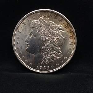 Lot 50 - 1921 Morgan SILVER Dollar