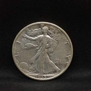 Lot 59 - 1935S SILVER Walking Liberty Half Dollar