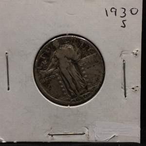 Lot 66- 1930S SILVER Standing Liberty Quarter Dollar