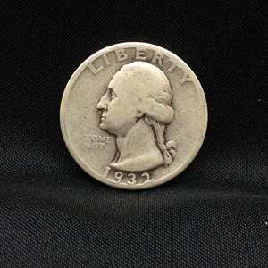 Lot 67- 1932 SILVER Washington Quarter Dollar