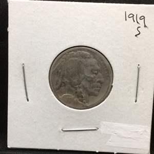 Lot 81- 1919S Buffalo Nickel