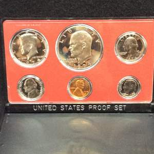 Lot 107- 1969 United States Proof Set