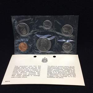 Lot 116 - 1968 Royal Canadian Mint Uncirculated Coin Set