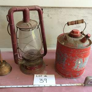 Auction Thumbnail for: Lot# 39 Antique rustic items