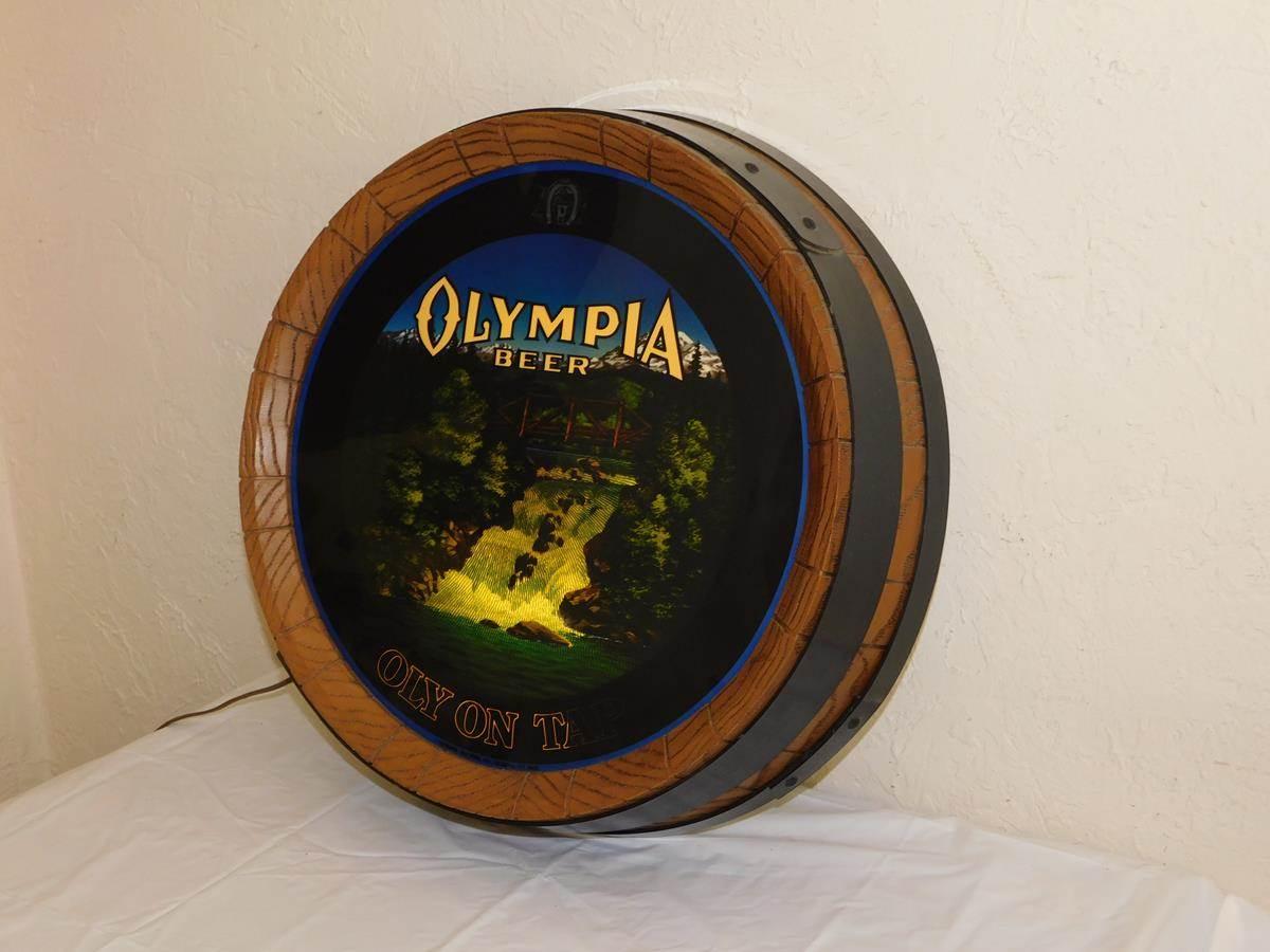 Beer sign olympia VINTAGE BEER
