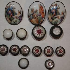 Auction Thumbnail for: Lot of Antique Drapery Tie Back Pins