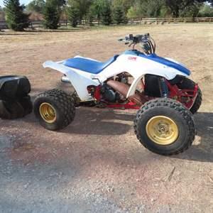 Auction Thumbnail for: Lot 91 - 1986 Honda TRX 250R Sport Quad