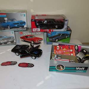 Auction Thumbnail for: Lot 92 - Model Cars, and Modeling Supplies