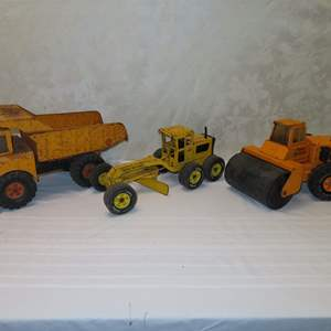 Auction Thumbnail for: Lot 44 - 3 Tonkas - Trucks and Grader