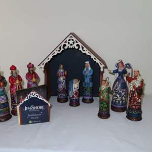 Auction Thumbnail for: Lot 161 - Jim Shore Bethlehem's Miracle Nativity Set