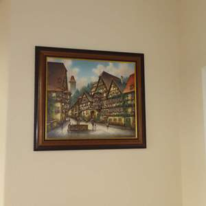 Auction Thumbnail for: Lot 116 - Original Oil Painting - by Pfitzer Rommel