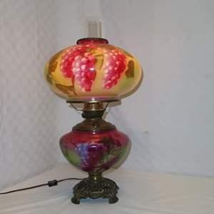 Auction Thumbnail for: Lot 42 - Antique Hurricane Lamp
