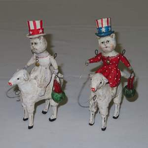 Auction Thumbnail for: Lot 45 - Hand Made Figures by Debbee Thibault - Signed and Numbered