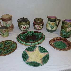 Auction Thumbnail for: Lot 75 - Vintage and Antique Majolica