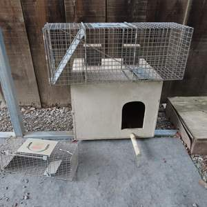 Auction Thumbnail for: Lot 84 - Animal Traps and House