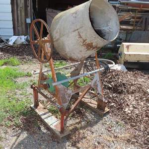 Auction Thumbnail for: Lot 135 - Cement Mixer Project