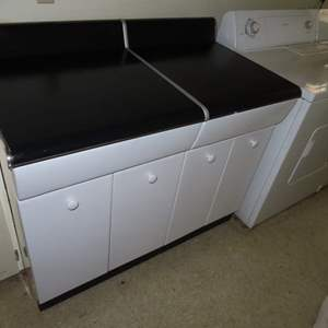 Auction Thumbnail for: Lot 49 - Metal Cabinet with Drawers