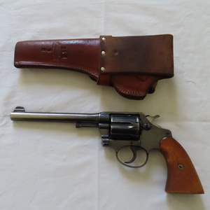Auction Thumbnail for: Lot 120 - Early Colt .38 Special Revolver - 'Police Positive'