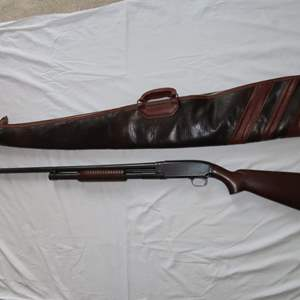 Auction Thumbnail for: Lot 124 - 12 Gauge Pump Shotgun - Winchester Model 12