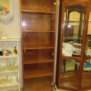 Auction Thumbnail for: Lot 146 - Teak Style Display Cabinet