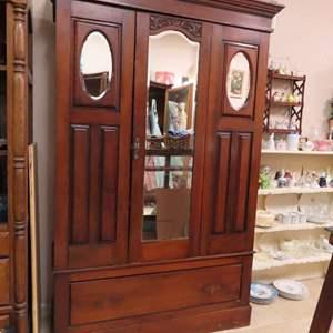 Auction Thumbnail for: Lot 148 - Antique Armoire