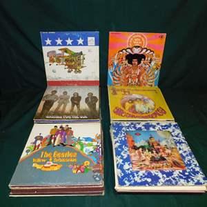 Auction Thumbnail for: Lot 27 - Vintage LP Collection - Classic Rock & More