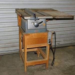 Auction Thumbnail for: Lot 33 - Craftsman Table Saw - Works Well
