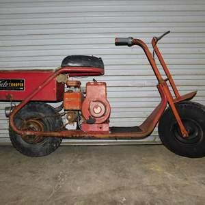 Auction Thumbnail for: Lot 34 - 1962 Tule Trooper Mini Bike