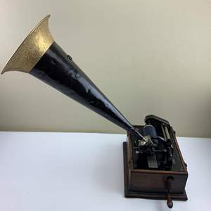 Auction Thumbnail for: Lot 63 - Antique Edison Cylinder Player