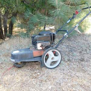 Auction Thumbnail for: Lot 81 - Craftsman Weed Mower - Runs Well