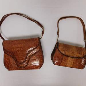 Auction Thumbnail for: Lot 48 - Pair of Alligator Purses
