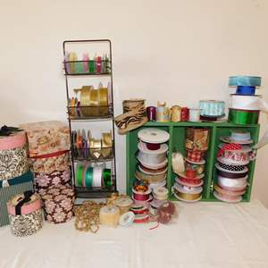 Auction Thumbnail for: Lot 48 - Ribbon, Boxes and More