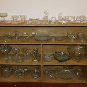 Auction Thumbnail for: Lot 65 - Vintage and Antique Crystal, Glass and More
