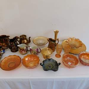 Auction Thumbnail for: Lot 68 - Vintage Lusterware and More