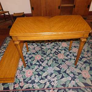 """Auction Thumbnail for: Lot 115 - Unique Table - Expandable from 21"""" Sofa Table to 84"""" Dining Table"""