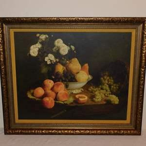 Auction Thumbnail for: Lot 41 - Framed Antique Print