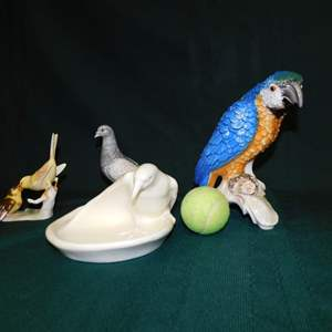 Auction Thumbnail for: Lot 96 - Ceramic Bird Designs by Goebel & Rockwood