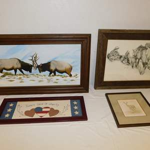Auction Thumbnail for: Lot 12 - Wildlife Art and More