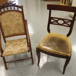 Auction Thumbnail for: Lot 30 - Pair of Antique Chairs