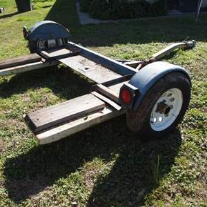 Auction Thumbnail for: Lot 24 - Car Towing Dolly