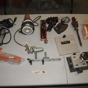 Auction Thumbnail for: Lot 86 - Hobbyist Tool Lot